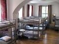 Dorm - all rooms have big windows